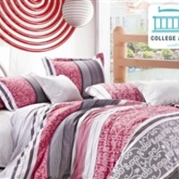 ValenciaTwin XL Comforter Set - College Ave Designer Series College Items Cool Bedding For College Students