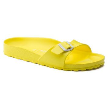 Sale Birkenstock Madrid Essentials Eva Neon Yellow 128313 Sandals