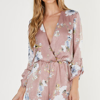 Find A Way Floral Romper