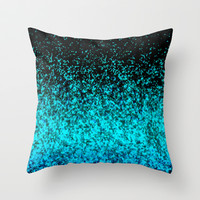Glitter Dust Background G162 Throw Pillow by MedusArt