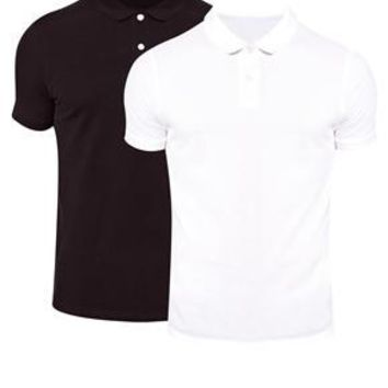 ASOS Polo Shirt In Pique 2 Pack SAVE 25%