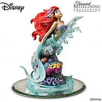 Disney's Ariel Handcrafted Figurine With Swarovski Crystals