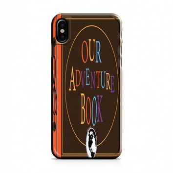 My Adventure Book Up Pixar Carl Ellie iPhone X Case