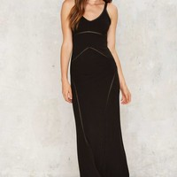 Rony Ribbed Maxi Dress