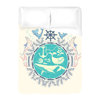 The Paradise Duvet Cover