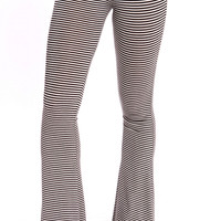 STRIPED BELL PANTS
