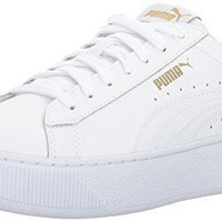 Puma Women's Vikky Platform Leather Sneaker