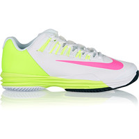 Nike - Lunar Ballistec 1.5 faux leather and mesh sneakers
