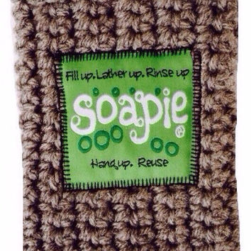 Best Soap Pouch/Felted Soap/The Best Exfoliator on the Market/Soapie ShoppeSour Apple & Heather