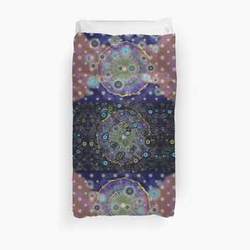 'Third Eye Plus Some' Duvet Cover by melasdesign