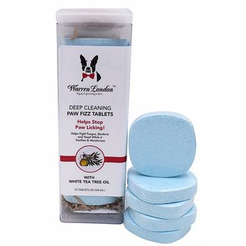 Deep Cleaning Paw Fizz Tablets - Helps Eliminate Paw Licking!