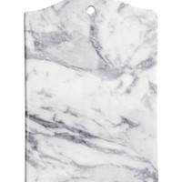 H&M - Ceramic Cutting Board - White/marble