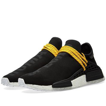 Adidas Mens PW Human Race NMD Black/White Mesh