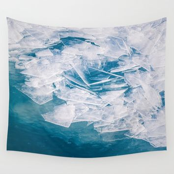 Broken Wall Tapestry by Faded  Photos