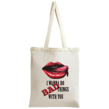 True Blood Lips Tote Bag