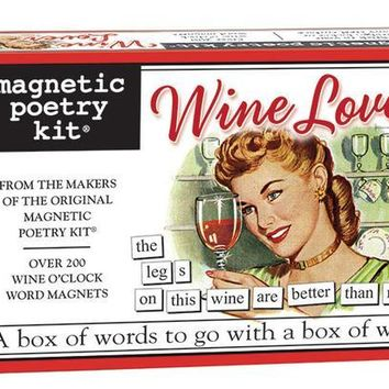 Wine Lover Magnetic Poetry