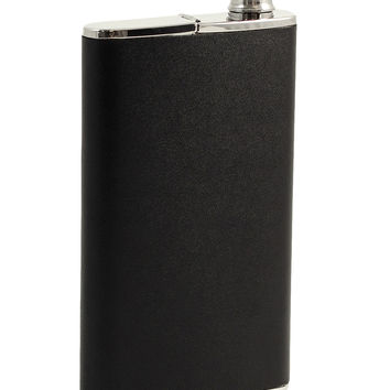 Flask with Cigar Holder
