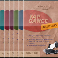 Our Top Seller!! Super Deluxe 10-Pack (Save 35%)! (DVD or Digital Link   Tap Dance Made Easy