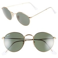 Ray-Ban 50mm Rounded Sunglasses   Nordstrom