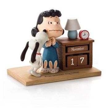 Hallmark Peanuts Perpetual Calendar Lucy and Snoopy