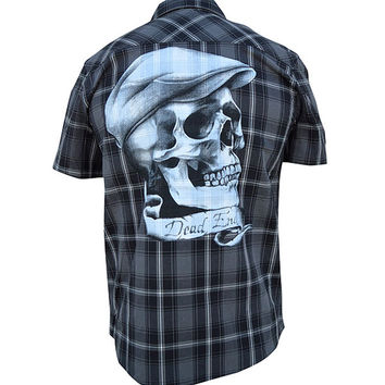 Dead End Short Sleeve Button Up by Black Market