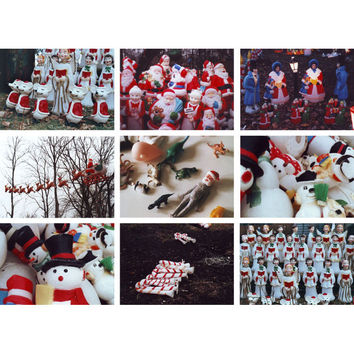 Holiday Humor Film Photo Greeting Card Set