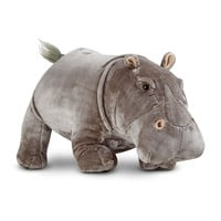 Plush Hippo Stuffed Animal - MELISSA & DOUG