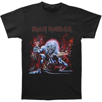 Iron Maiden Men's  Real Live Wire T-shirt Black