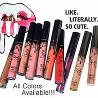 Kylie jenner lipstick ALL COLORS! FREE SHIPPING IF YOU BUY ALL 8 COLORS