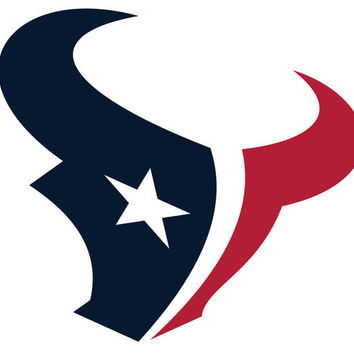 Houston Texans inspired Decal 5 inches Full color by OwlOutfitters