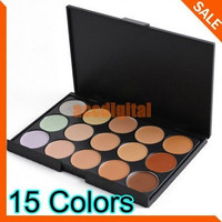 New 2014 Concealer Neutral Palette 15 colors makeup tools eye scar cream concealer Camouflage Makeup = 1753497156