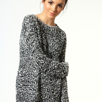 Khloe Mixed Knit Jumper