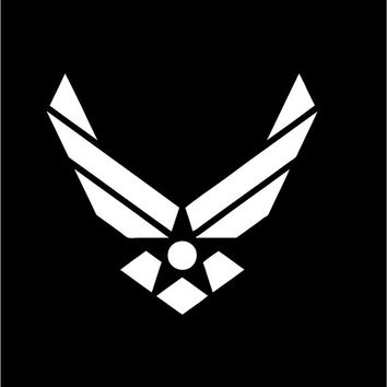 Military US Air Force Vinyl Decal car truck auto vehicle window custom sticker United States Air Force decal