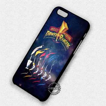 Mighty Morphin Power Rangers - iPhone 7 6 Plus 5c 5s SE Cases & Covers