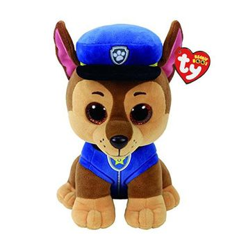 "Ty Beanie Boos Plush Animal Doll Chase Dog Soft Stuffed Toys With Tag 6"" 15cm"