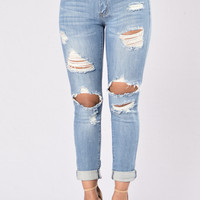 Rhodes Jeans - Medium Blue