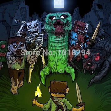Minecraft mouse pad zombie version mousepads boy Halloween Gift gaming mouse pad gamer large personalized pad mouse keyboard pad