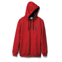 Un-Polo Tech Hoodie in Red