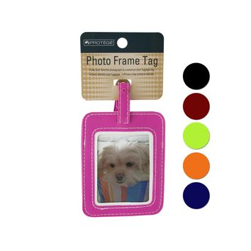 Photo Frame Luggage Tag Case Pack 24