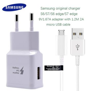 Samsung Galaxy S6 S7 edge Fast Charger Original Quick Travel  Charge