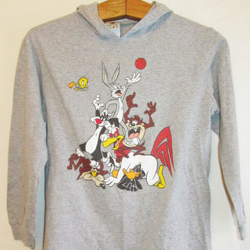 Vintage looney tunes denim shirts