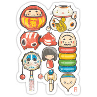 '[Special Lucky Toy Box]' Sticker by Indigo East