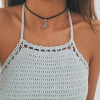 South Moon Choker Necklace