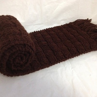 Customized Basket Knit Scarves by PocketTeesandThings on Etsy