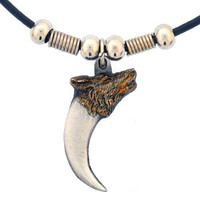Earth Spirit Necklace - Wolf Claw