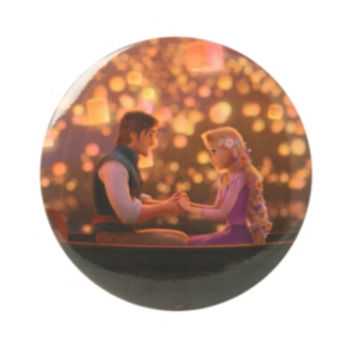 Disney Tangled Boat Button Mirror