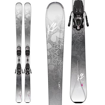 K2LUVIT 76 SKIS + ER3 10 BINDINGS - WOMEN'S 2017