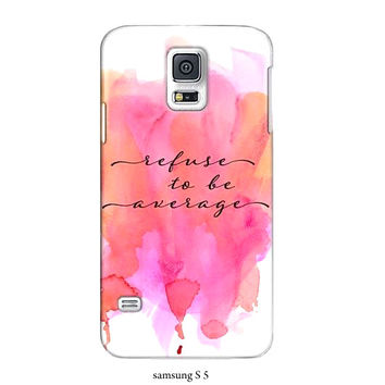 Typography phone case, S3,S4, S5, iphone4, 5, 6 case, ipad hard case, inspirational, pink, quote