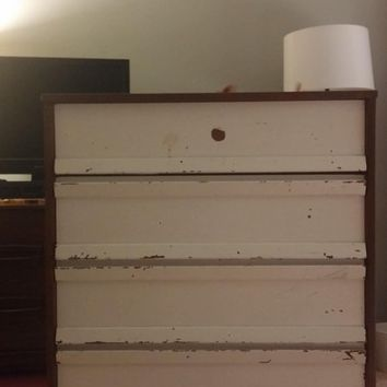 Bassett Mid Century Modern Tall Chest