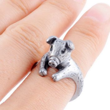 Cute Pig Animal Ring